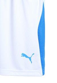 Puma - LIGA - Korte sportsbukser - white/electric blue - 3