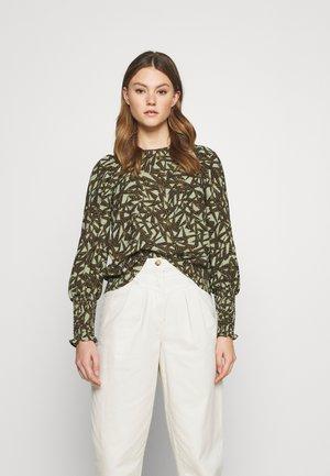 VMAPRIL PUFF  - Long sleeved top - oil green