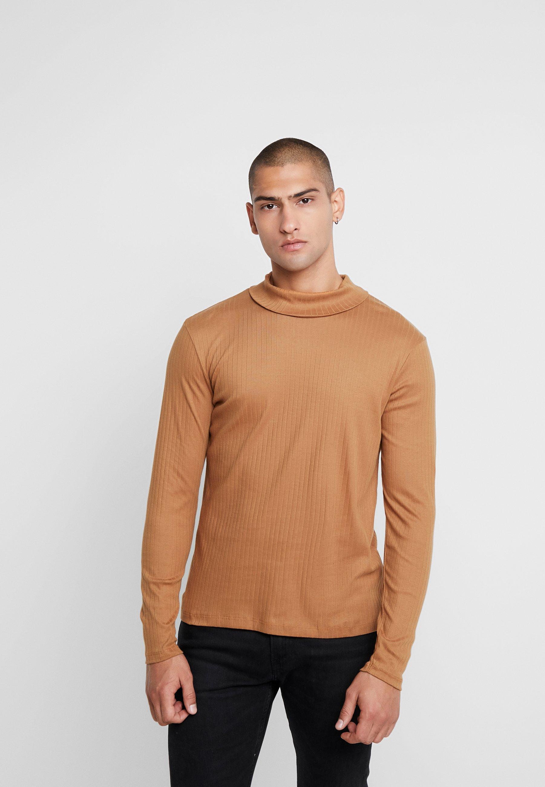 Men JPRLUTON LS TEE TURTLE NECK  - Long sleeved top