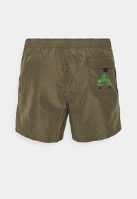 Replay - BEACHWEAR - Swimming shorts - dark military - 1