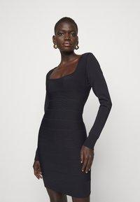 Hervé Léger - DRESS - Sukienka etui - black - 3