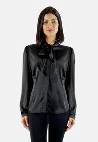 Aline Celi - MARI - Button-down blouse - black - 0