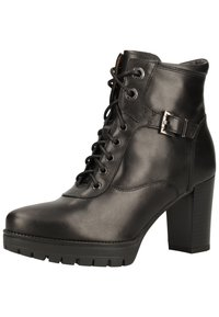 NeroGiardini - Lace-up ankle boots - black bk 100 - 2