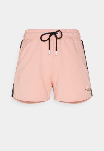 JADIANA TAPED SHORTS - Sports shorts - coral cloud