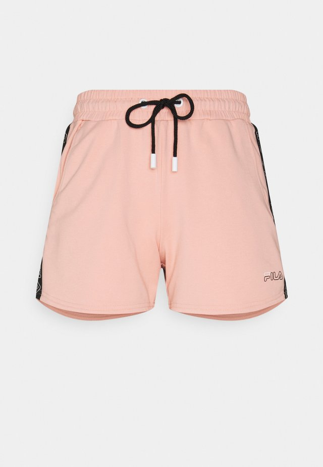 JADIANA TAPED SHORTS - Korte broeken - coral cloud