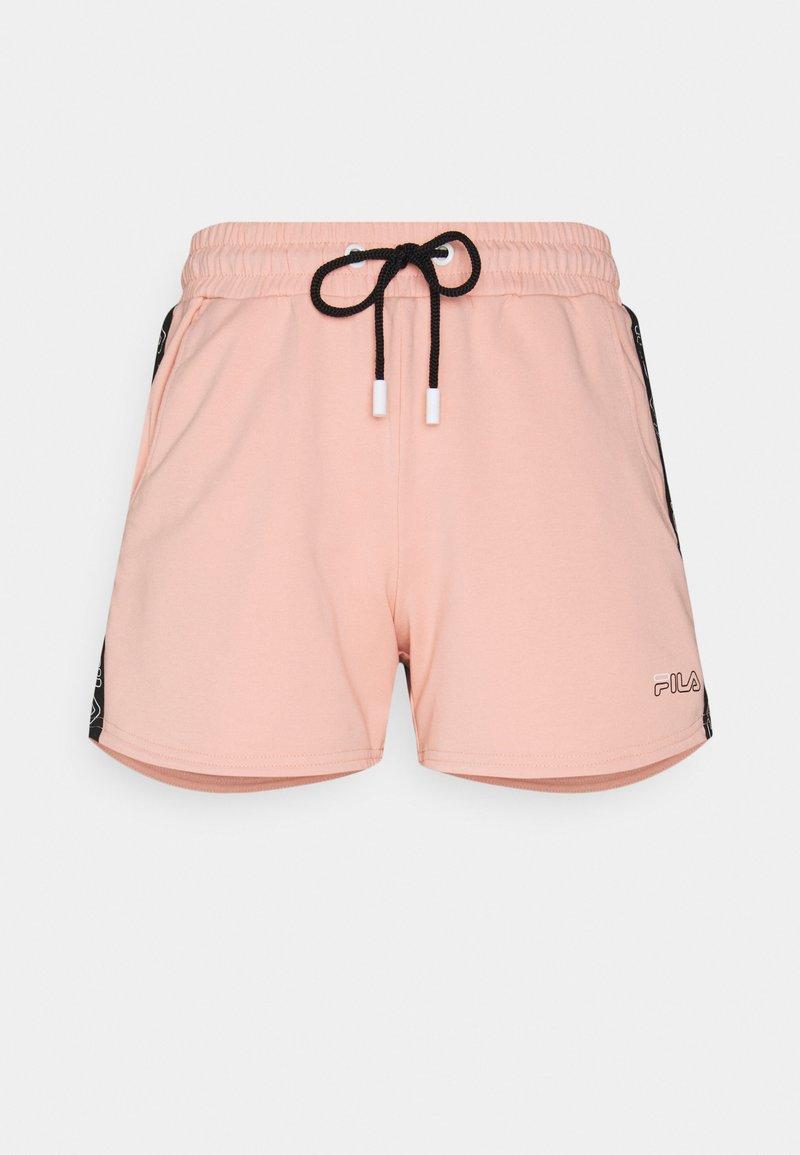 Fila - JADIANA TAPED SHORTS - Pantalón corto de deporte - coral cloud