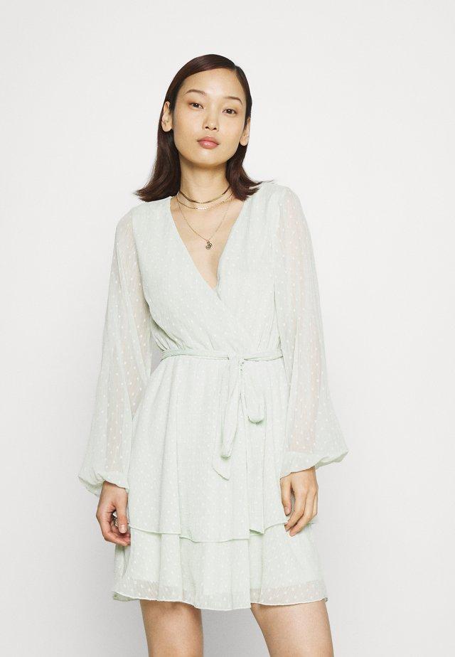 LOVEABLE WRAP DRESS - Cocktail dress / Party dress - mint