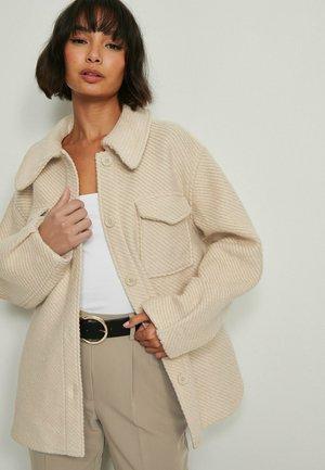 Fleece jacket - light beige