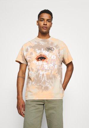 TIDE DYE EXISTENCE EYE TEE UNISEX - Print T-shirt - multi