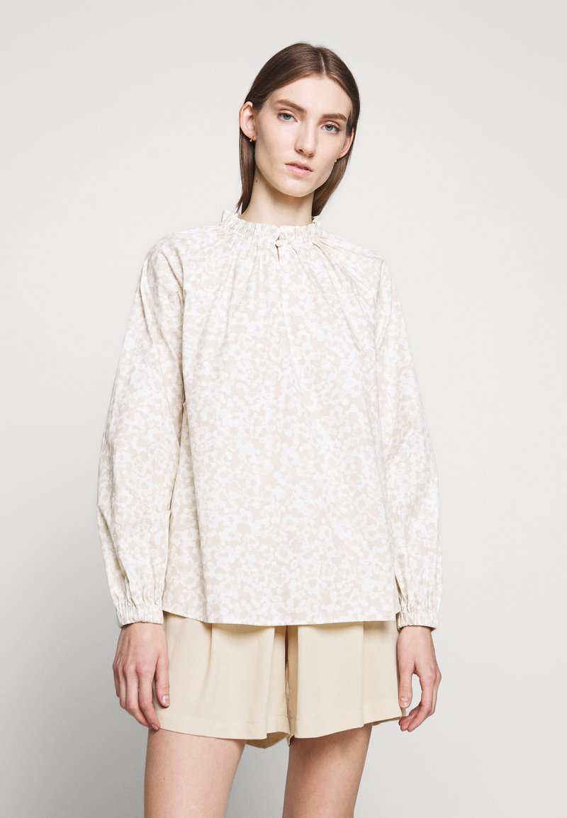 Bruuns Bazaar - POSY LIMONE - Blůza - off-white