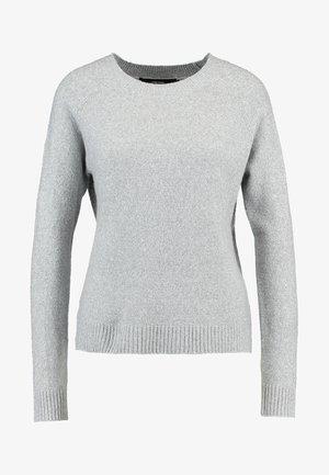 VMDOFFY O-NECK  - Maglione - light grey melange