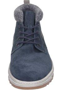 Rieker - Lace-up ankle boots - pazifik/granit/polvere - 4