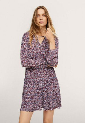 Jumper dress - kasztanowy