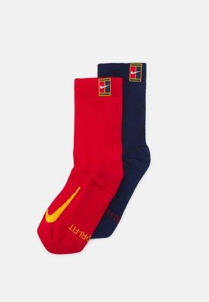 COURT MULTIPLIER CUSHIONED 2 PACK UNISEX - Sports socks - multicolor
