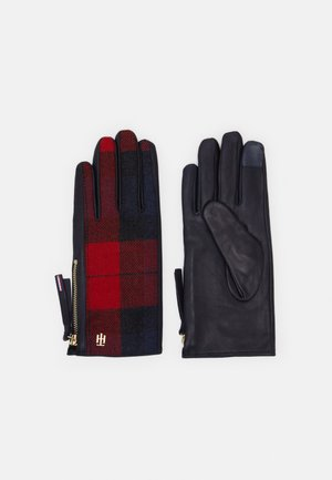 MIX GLOVES CHECK - Handschoenen - blue