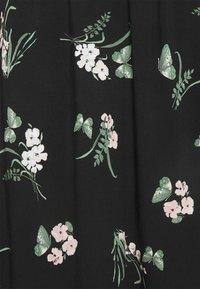 Vero Moda - VMSIMPLY EASY SKIRT - Maxi skirt - black - 5