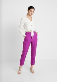 Mossman - THE VICTORY PANT - Trousers - purple - 2