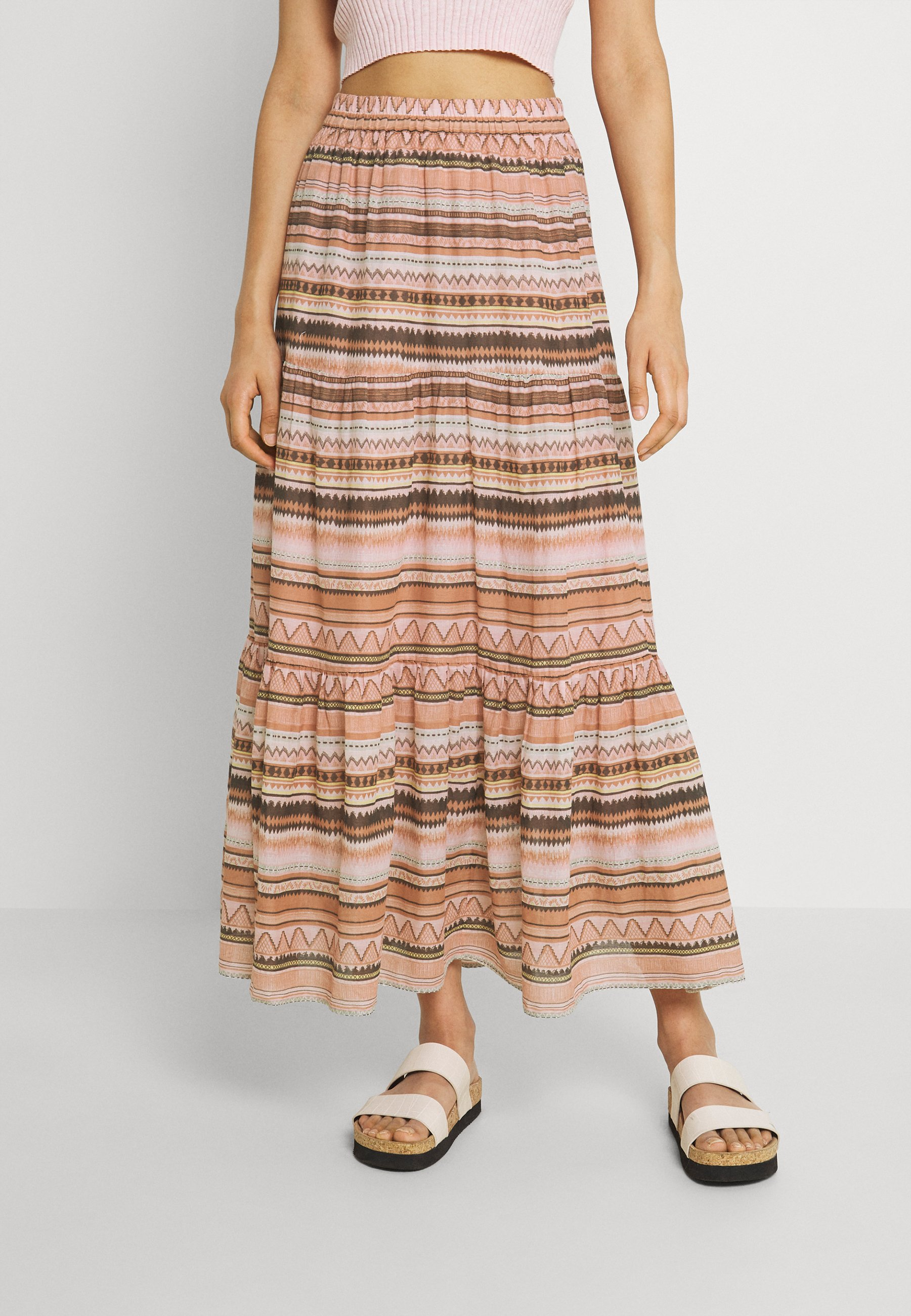 Women ONLASIA LIFE MAXI SKIRT - Maxi skirt