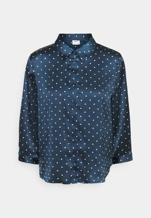 JDYPHILIPPA - Button-down blouse - night sky/cloud dancer