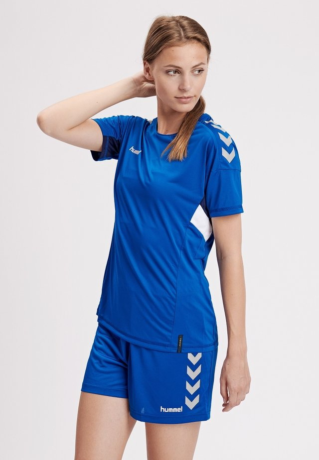 TECH MOVE - Print T-shirt - true blue