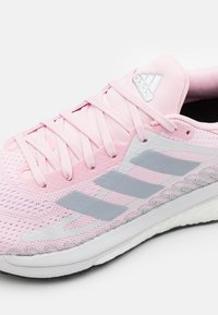 adidas Performance - SOLAR GLIDE - Stabilní běžecké boty - fresh candy/half silver/solar red - 5