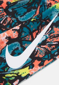 Nike Performance - FURY HEADBAND - Orejeras - black/bright mango/white - 3