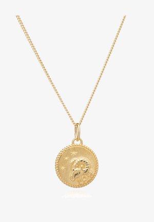 ZODIAC ART COIN ARIES  - Ketting - gold