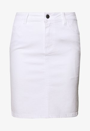 OBJWIN - Denim skirt - white denim