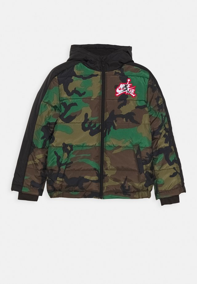 JUMPMAN CLASSIC PUFFER - Giacca invernale - olive