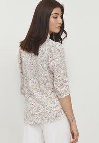 b.young - BYFLAMINIA - Button-down blouse - fuchsia pink mix - 2
