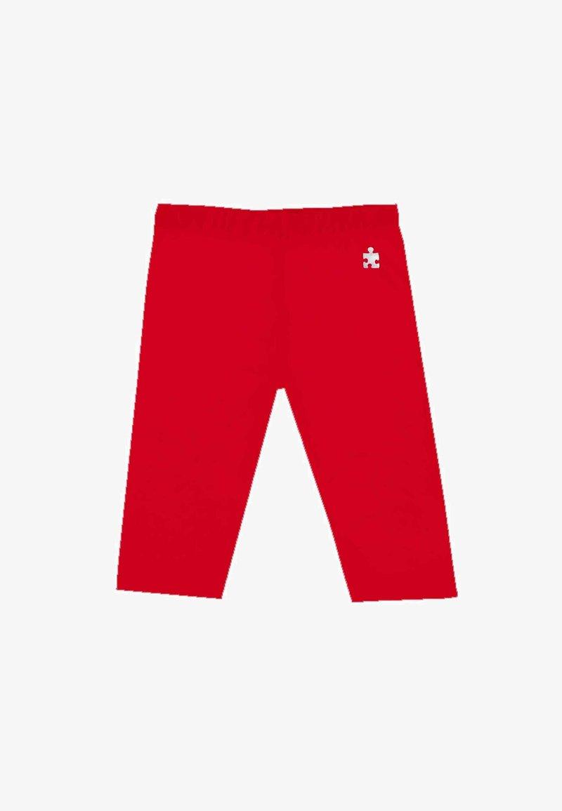 UBS2 - CON LOGO - Leggings - Trousers - rojo