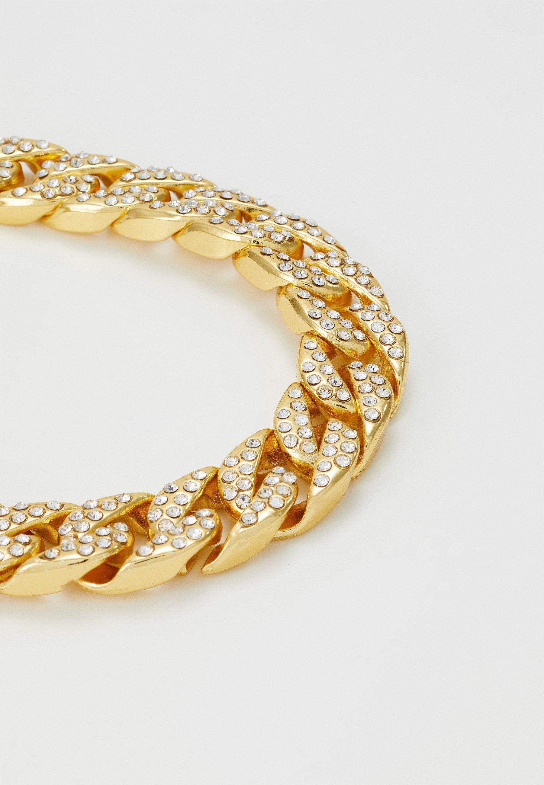 Accessori,Gioielli,Borse & Beauty care Vintage Supply STONE BRACELET Bracciale gold-coloured