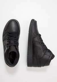 Jordan - AIR 1 MID - Sneakers hoog - black - 1