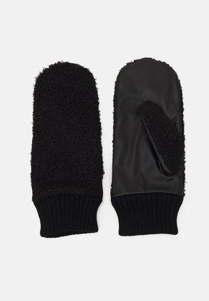 FINE MITTENS - Rękawiczki z jednym palcem - black