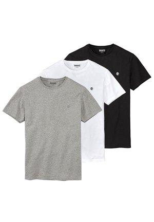 3PACK - Basic T-shirt - grey
