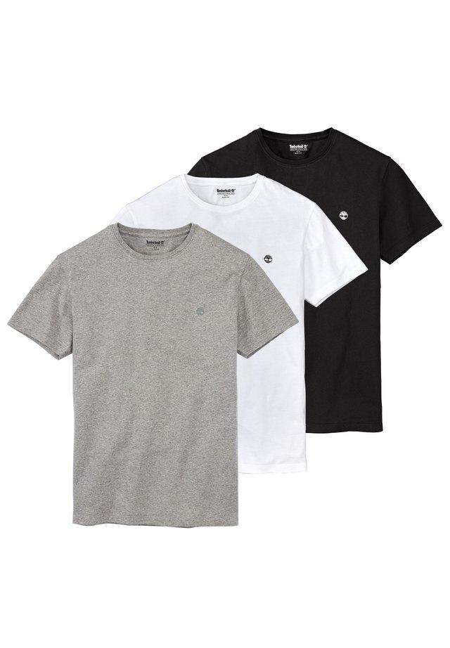 3PACK - T-shirt basic - grey