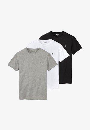 3PACK - T-shirt - bas - grey