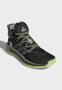 adidas Performance - PRO BOOST MID SHOES - Basketball shoes - black - 3