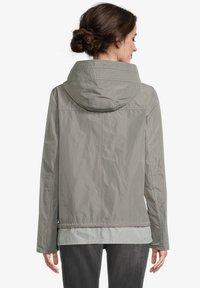 Amber & June - MIT KAPUZE - Waterproof jacket - sedona sage - 2