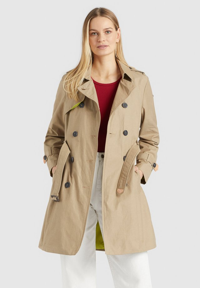 AMELE - Trench - camel