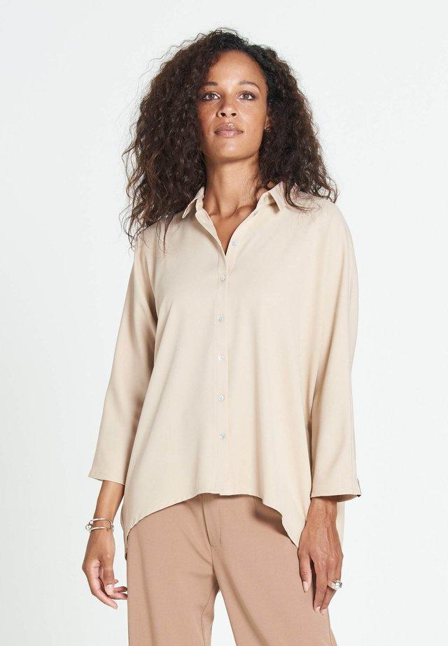 FOUCAULT MAROCAIN - Button-down blouse - beige