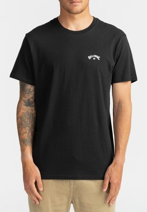 ARCH WAVE  - T-shirt con stampa - black