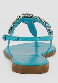 Evita - OLIMPIA - Sandalias de dedo - turquoise - 1