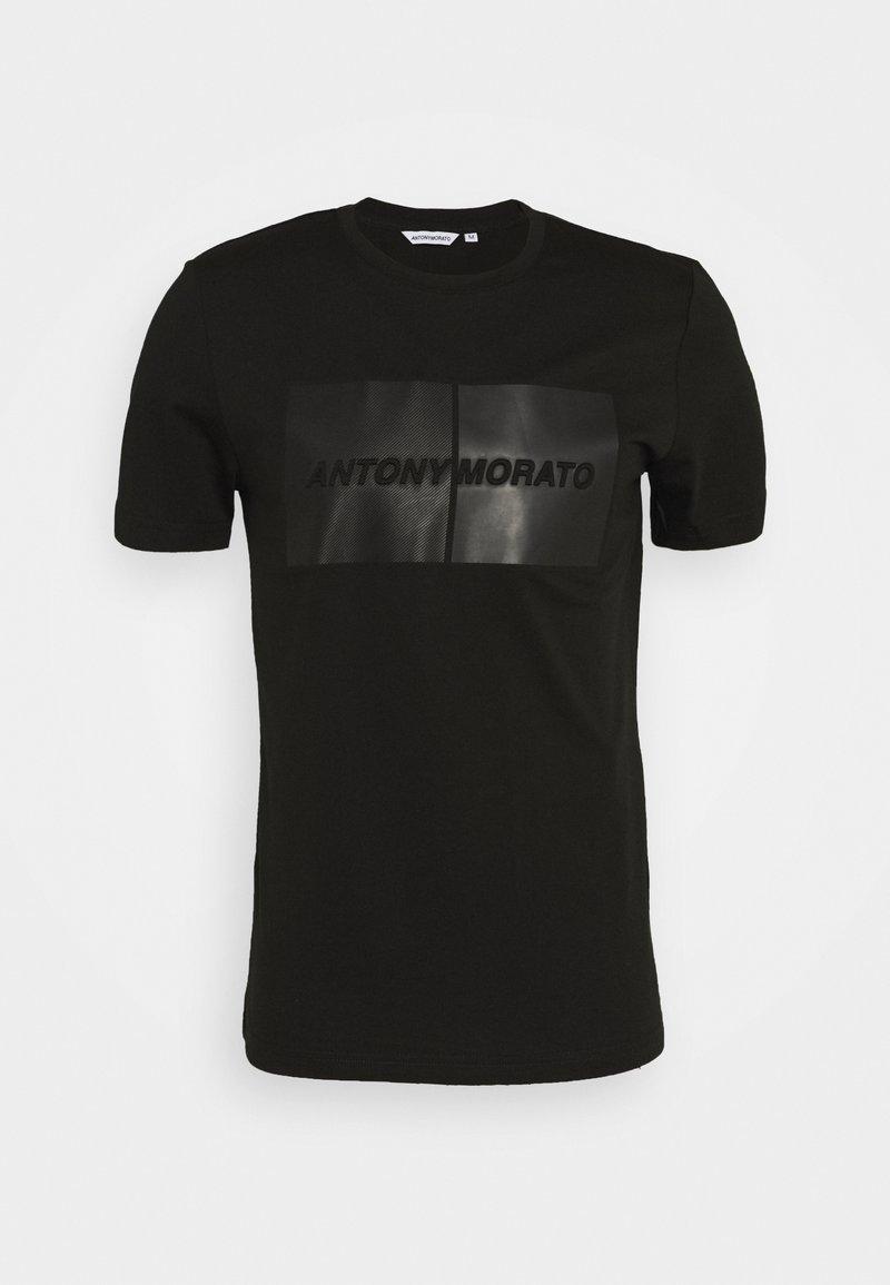 Antony Morato - ROUND COLLAR  - Print T-shirt - black