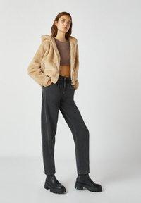 PULL&BEAR - Light jacket - mottled beige - 4