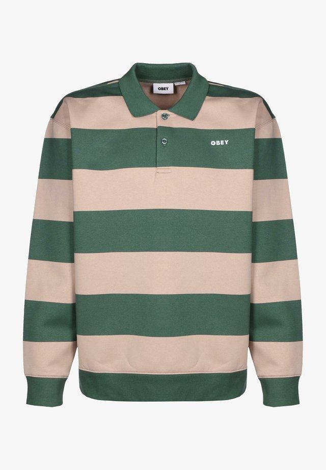Polo shirt - green multi