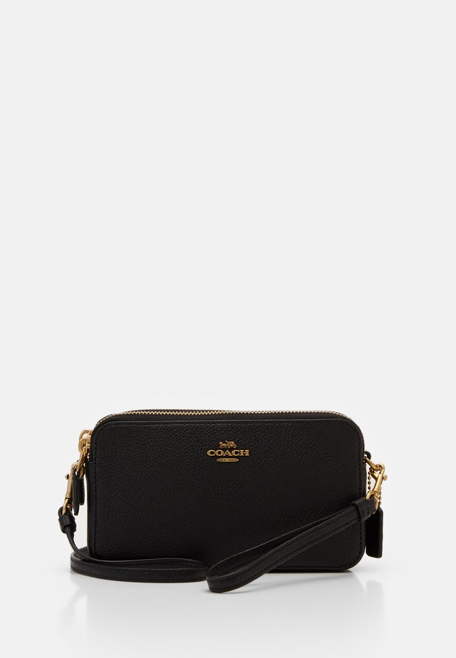 POLISHED PEBBLE KIRA CROSSBODY - Umhängetasche - black