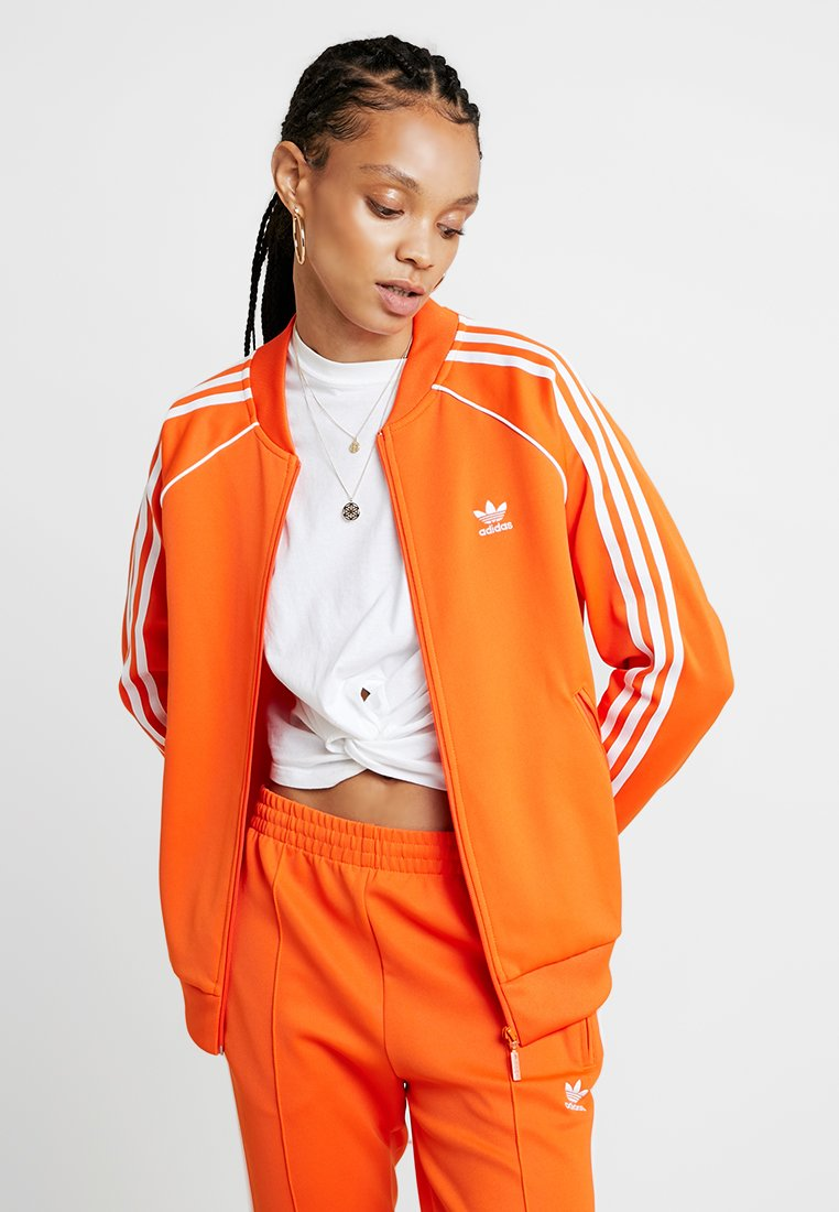 adidas Originals - ADICOLOR 3 STRIPES BOMBER TRACK JACKET - Training jacket - orange