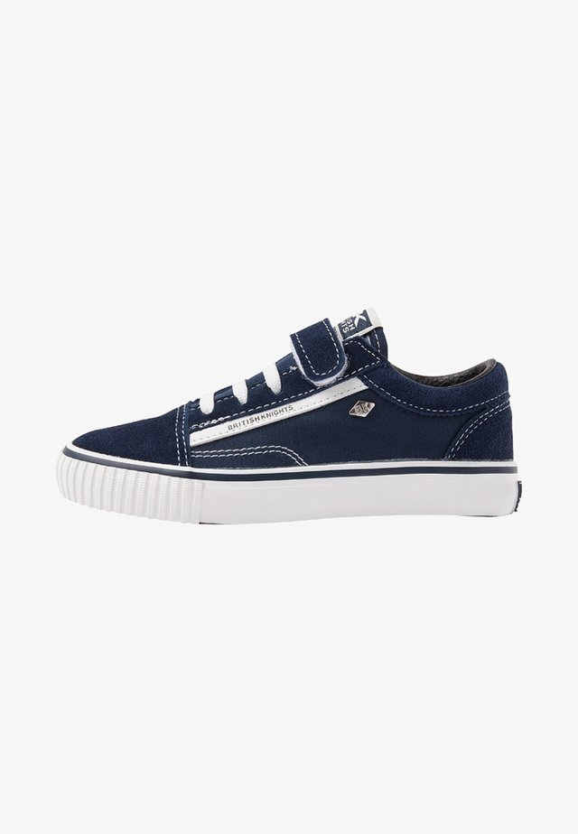 MACK  - Sneakers laag - dark blue/white