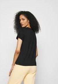 Opus - SERZ - Basic T-shirt - black - 2